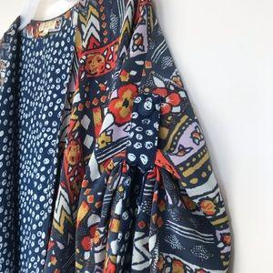 Anthropologie Tops - Anthropologie Porridge Constellations Silk Kimono